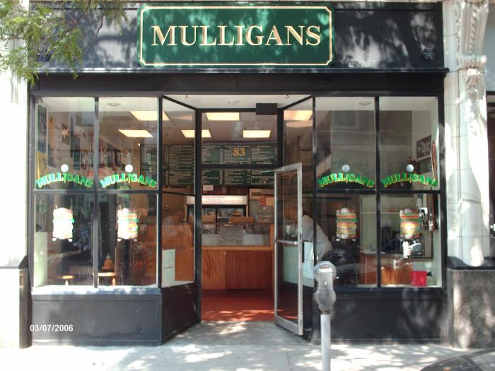 Mulligans Storefront